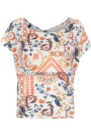 Lygia & Nanny Simi tile-print T-shirt