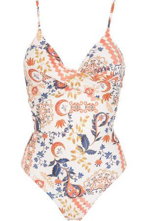 Lygia & Nanny Bianca graphic-print swimsuit