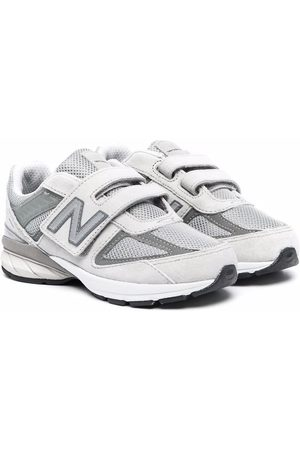 New Balance Boys Sneakers - Touch-strap leather sneakers