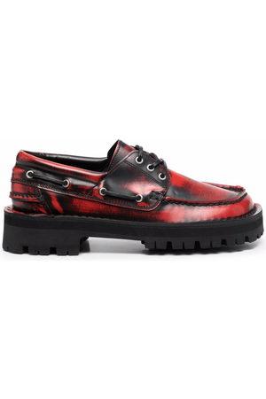 Camper Lab Eki square-toe boat shoes