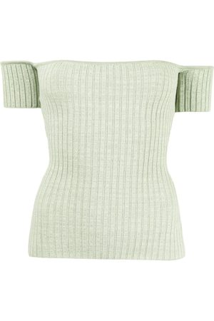 Anna Quan Melodie ribbed-knit top