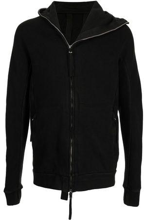 11 BY BORIS BIDJAN SABERI Men Sweatshirts - Off-centre zipped hoodie