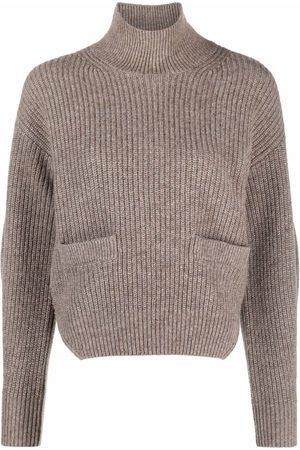 Self-Portrait High-neck knit jumper