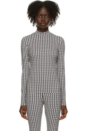 Women Long Sleeve - Valentino & White Optical Valentino Long Sleeve T-Shirt