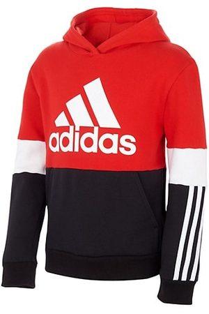adidas Little Boy's Logo Color Block 3-Stripes Cotton Hoodie