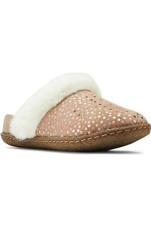 sorel Little Girl's & Girl's Nakiska Iridescent Polka Dot Suede Slippers