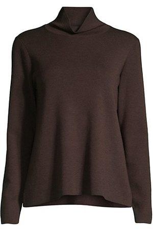 Eileen Fisher Stretch Jersey Turtleneck Sweater