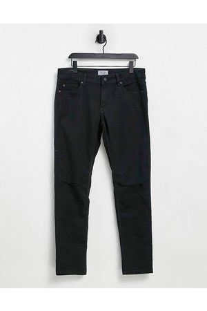 Only & Sons Skinny fit jeans with knee rips in