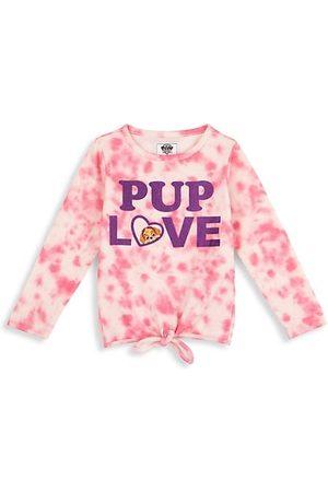 Andy & Evan x PAW Patrol Litte Girl's Paw Patrol Tie-Dye Pup Love T-Shirt