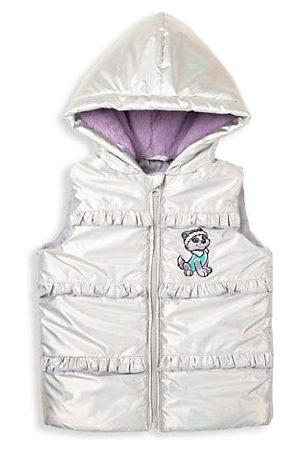 Andy & Evan x PAW Patrol Little Girl's Paw Patrol Metallic Puffer Vest