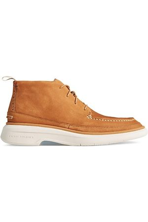 Sperry Men Brogues - Gold Commodore Nubuck Oxfords