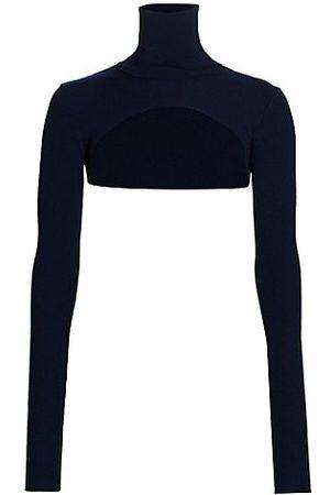 Halston Heritage Women Jumpers - Mina Turtleneck Shrug Sweater