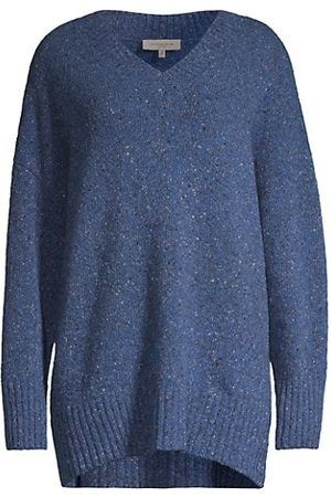 Lafayette 148 New York Donegal Cashmere-Blend Sweater