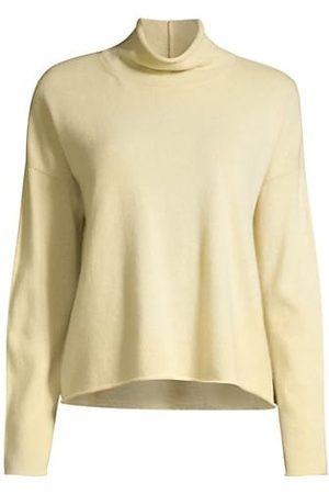 Eileen Fisher Women Jumpers - Cashmere Boxy Mock-Turtleneck Sweater