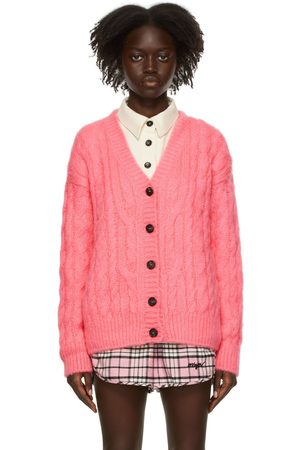 MSGM Cable Knit Cardigan