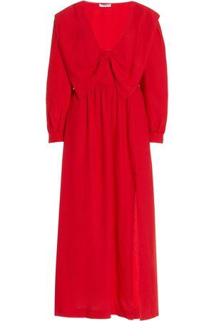 Miu Miu Women's Satin Sable Dress