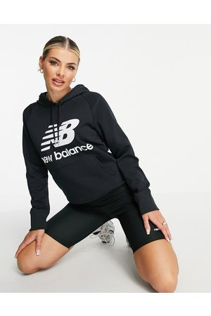 New Balance Large logo hoodie in