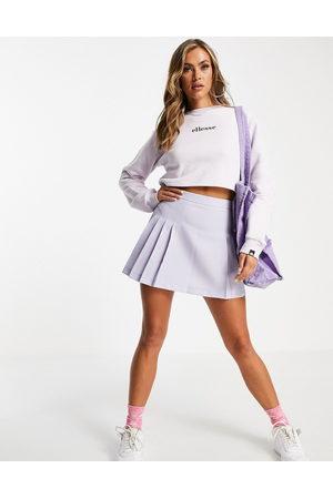 Ellesse Cropped sweatshirt in lilac