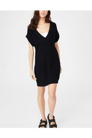 Cotton On Women Casual Dresses - Sleeveless knitted dress in