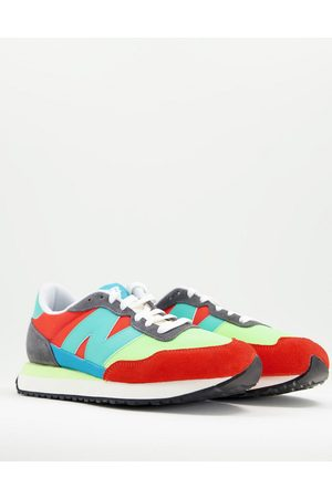 New Balance Men Sneakers - 237 trainers in and aqua