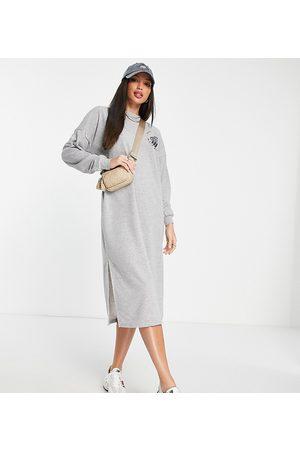 Noisy May Tall Midi sweater dress in