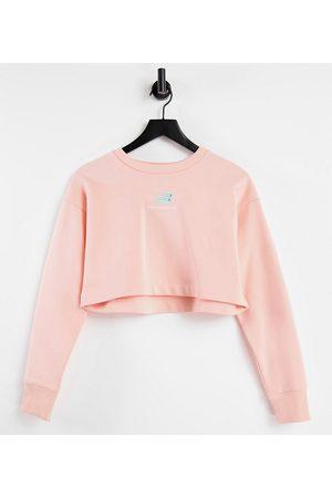 New Balance Women Sweatshirts - Cropped sweatshirt in - exclusive to ASOS