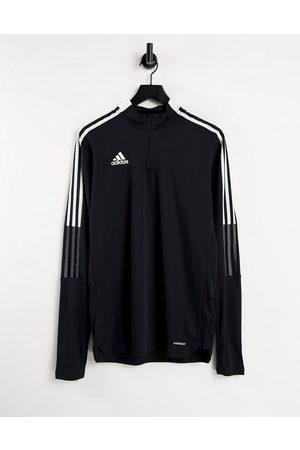 adidas performance Adidas Football Tiro 21 half zip top in