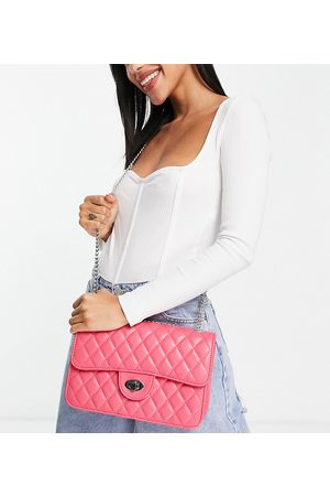 My Accessories London Exclusive quilted chain cross body bag in