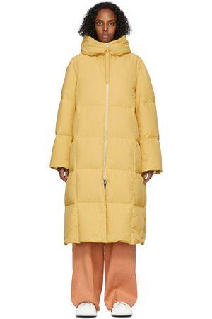 Women Long Sleeve - Jil Sander Yellow Down Long Coat