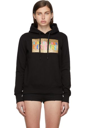 Versace Jeans Couture Glittered Logo Hoodie