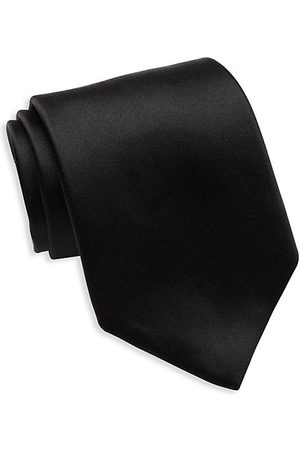 David Donahue Men Neckties - Classic Silk Tie