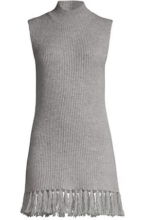Milly Wool-Cashmere Blend Shell