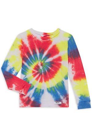 Worthy Threads Girls Long Sleeve - Baby's & Little Girl's Tie-Dye Raglan T-Shirt
