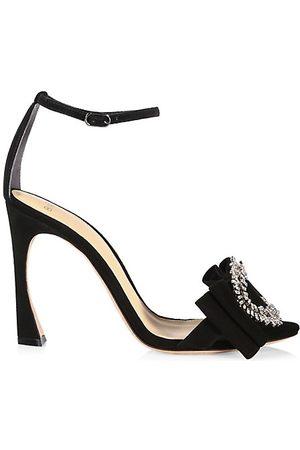 ALEXANDRE BIRMAN Women Heeled Sandals - Maddie Suede Ankle Strap Sandals