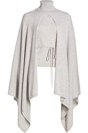 Halston Heritage Women Turtlenecks - Arden Cape Turtleneck Sweater