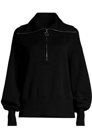 SEVENTY BY SERGIO TEGON Wool-Blend Zip-Up Sweater
