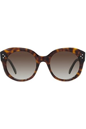 Céline 53MM Round Sunglasses