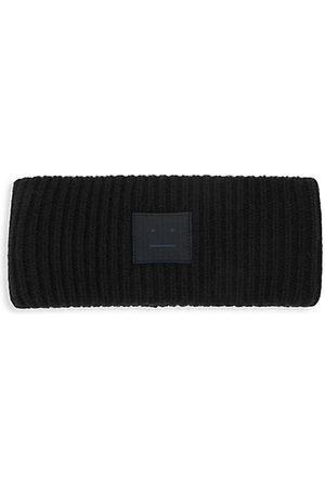 Acne Men Headbands - Pansy-N-Face Wool Headband