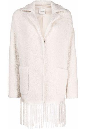 Alysi Fringe-hem coat
