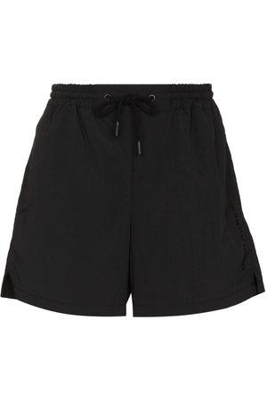 Paco Rabanne High-rise running shorts