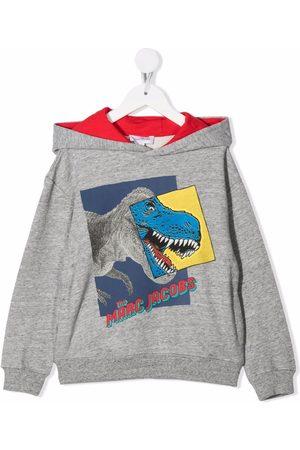 The Marc Jacobs Boys Hoodies - Dinosaur logo-print hoodie
