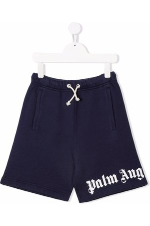 Palm Angels CLASSIC OVER LOGO SHORT NAVY WHITE