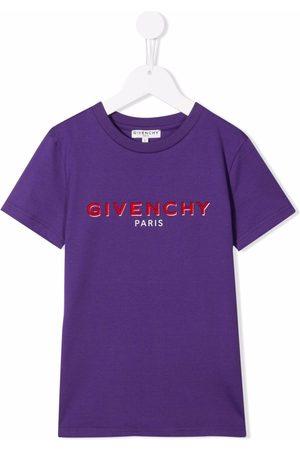 Givenchy Short-sleeve logo-print T-shirt