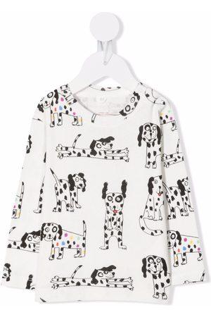 Stella McCartney Dog-print long-sleeve top