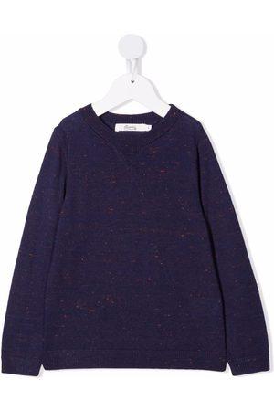 BONPOINT Boys Long Sleeve - Long-sleeved wool-blend sweatshirt