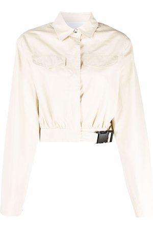 REMAIN Buckled denim jacket