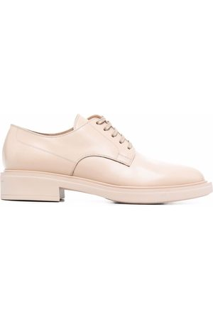 Gianvito Rossi Women Shoes - Leather lace-up shoes