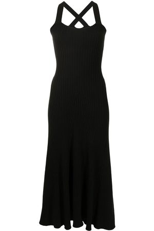 Anna Quan Women Knitted Dresses - Mikayla flared ribbed-knit dress