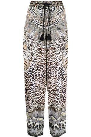 Camilla Call of Cathedral print trousers
