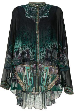 Camilla Women Tops - Fitzgeralds Flapper draped shirt